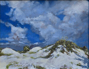 Storm over the Dunes by CindyJenkins