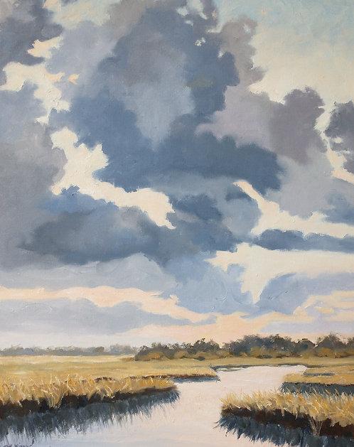 Egan's Creek Sky by Carol Winner