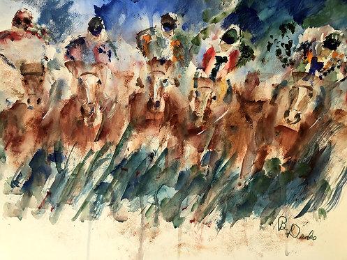 Tight Race by Betsy Drake Hamilton