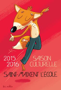 Illustration saison culturelle - St Maixent l'École