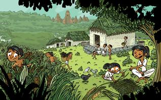 Les Mayas - Doc pour le magazine Toboggan