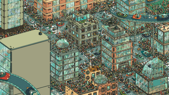 The great escape - illustration de couverture - ed Milan