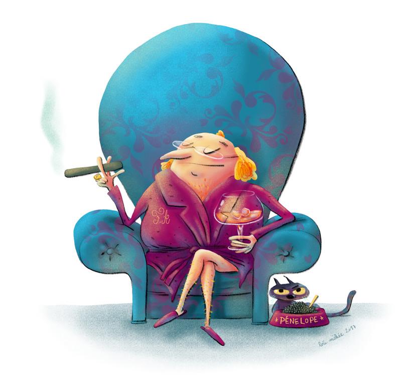 Illustration Affiche Fred Abrachkoff