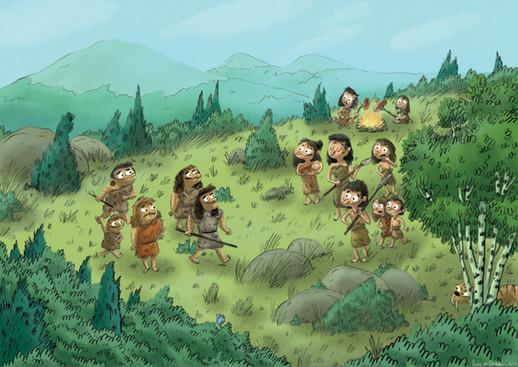 Exposition Néanderthal - Musée de l'homme.