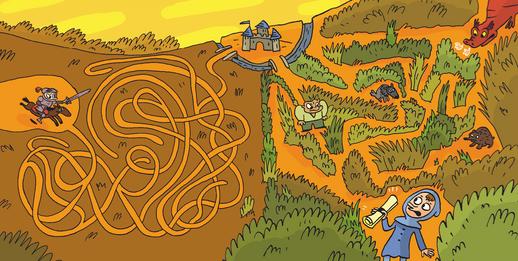 100 labyrinthes fous fous fous !
