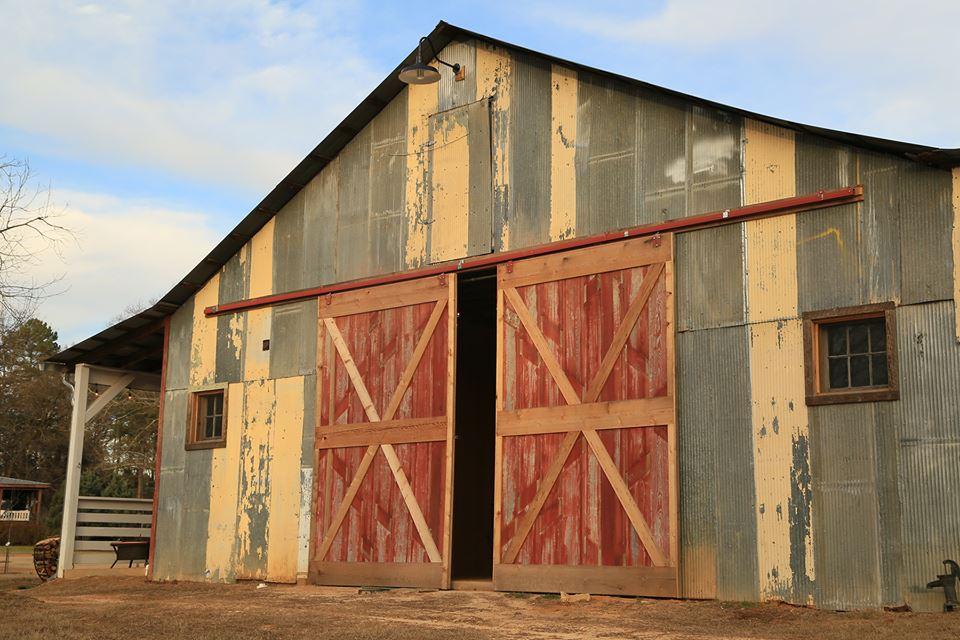 Rustic west barn doors