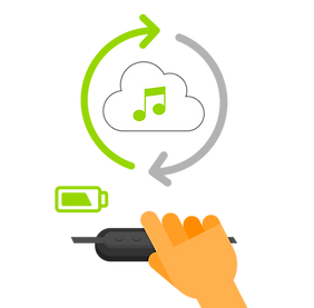 Music Sync and charging