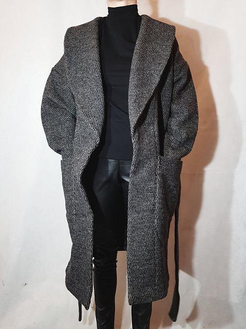 Gruby wełniany płaszcz Damian Kretschmer