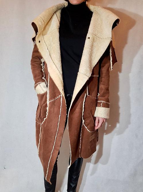 Kożuch brązowy Agi Jensen Design