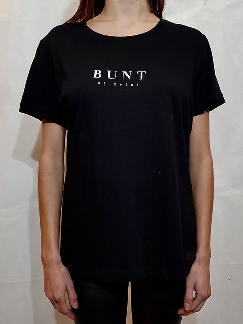 T-shirt Bunt of kolor czarny