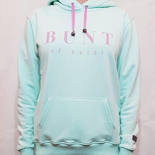 Bluza Bunt of kolor miętowa