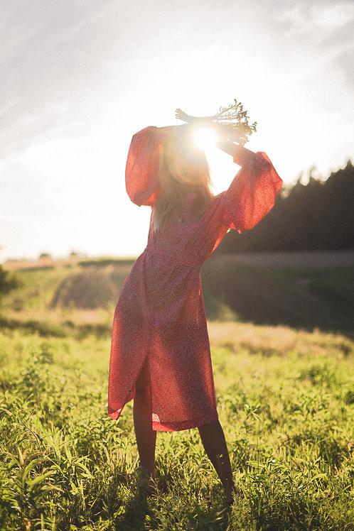 Sukienka wiązana Bucle