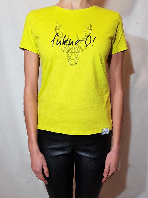 T-shirt limonkowy fukur-O!