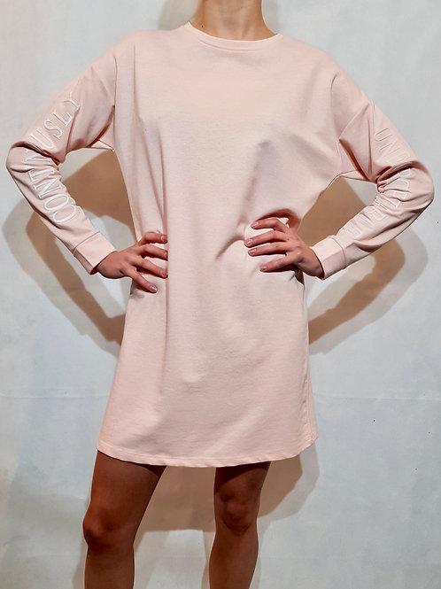 Bluzosukienka różowa Annomalia