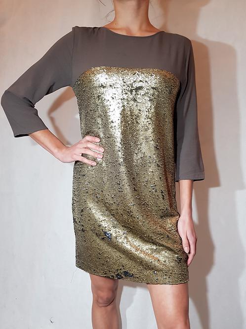 Sukienka z cekinów Klaudyna Cerklewicz
