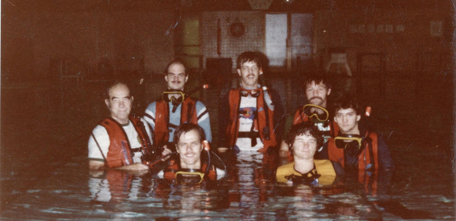 1982 First Dive Class
