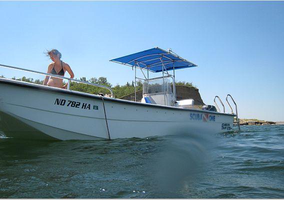 North Dakota Dive Boat