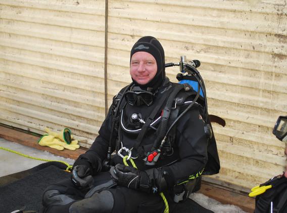 Ice Diving North Dakota