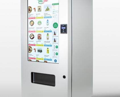 Healthy office vending machines in London, UK