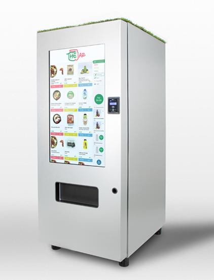 Healthy Vending Machines in London, UK