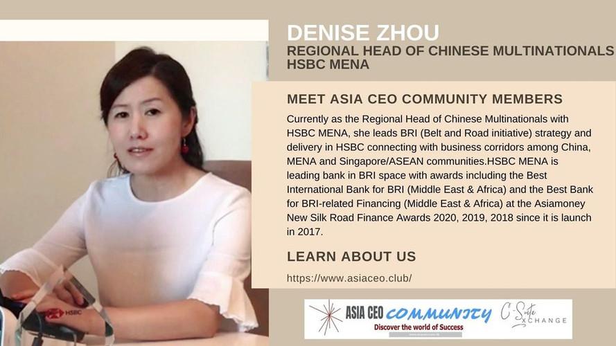 Regional Head of Chinese Multinationals