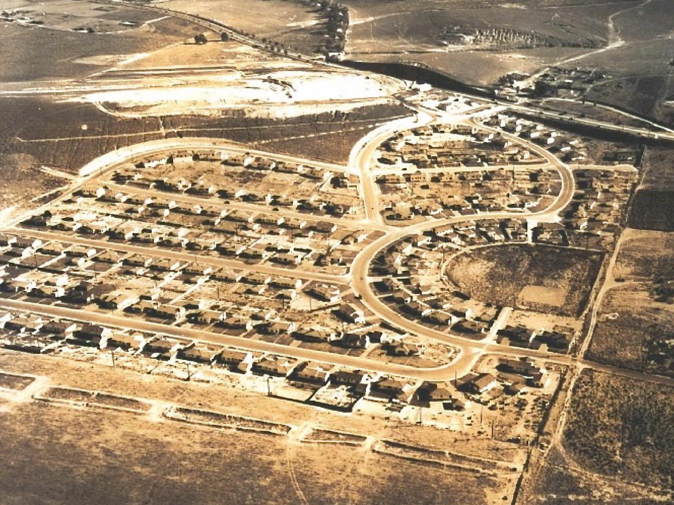 Seaside Ranchos circa 1949