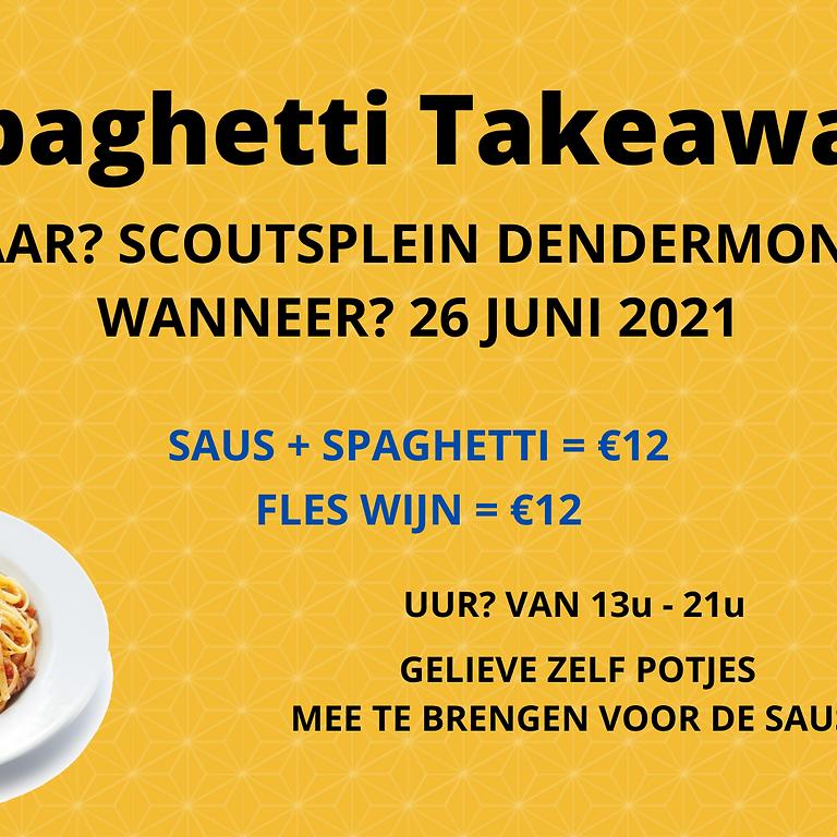 Take-away spaghettiavond