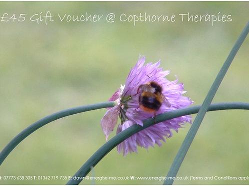 Gift vouchers - 60 minutes - £45