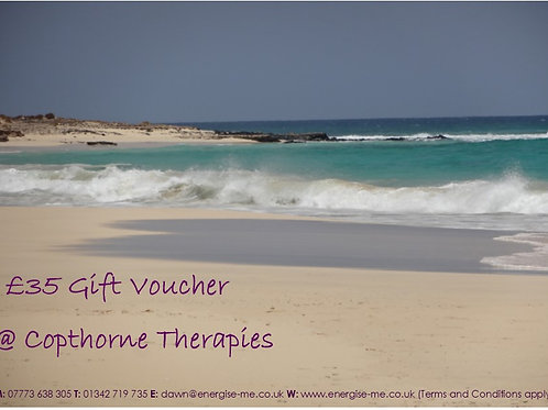 Gift vouchers - 45 minutes - £35