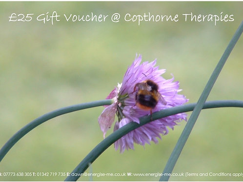 Gift vouchers - 30 minutes - £30