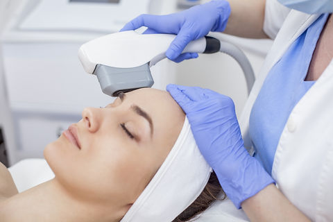 Anti-aging treatment, IPL laser, photo s