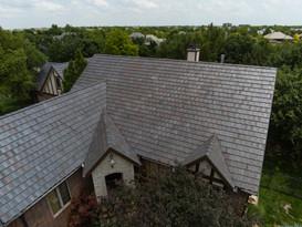Stoneworth tile roof installation