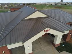 Standing Seam Metal Roof Newspring church