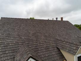 Davinci shake roof installation
