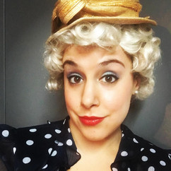 I'm a blonde!  Or Agnes in Gypsy is  :)