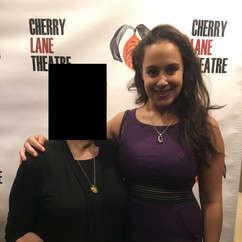 At the Cherry Lane Theatre on opening night of Crashlight the Musical