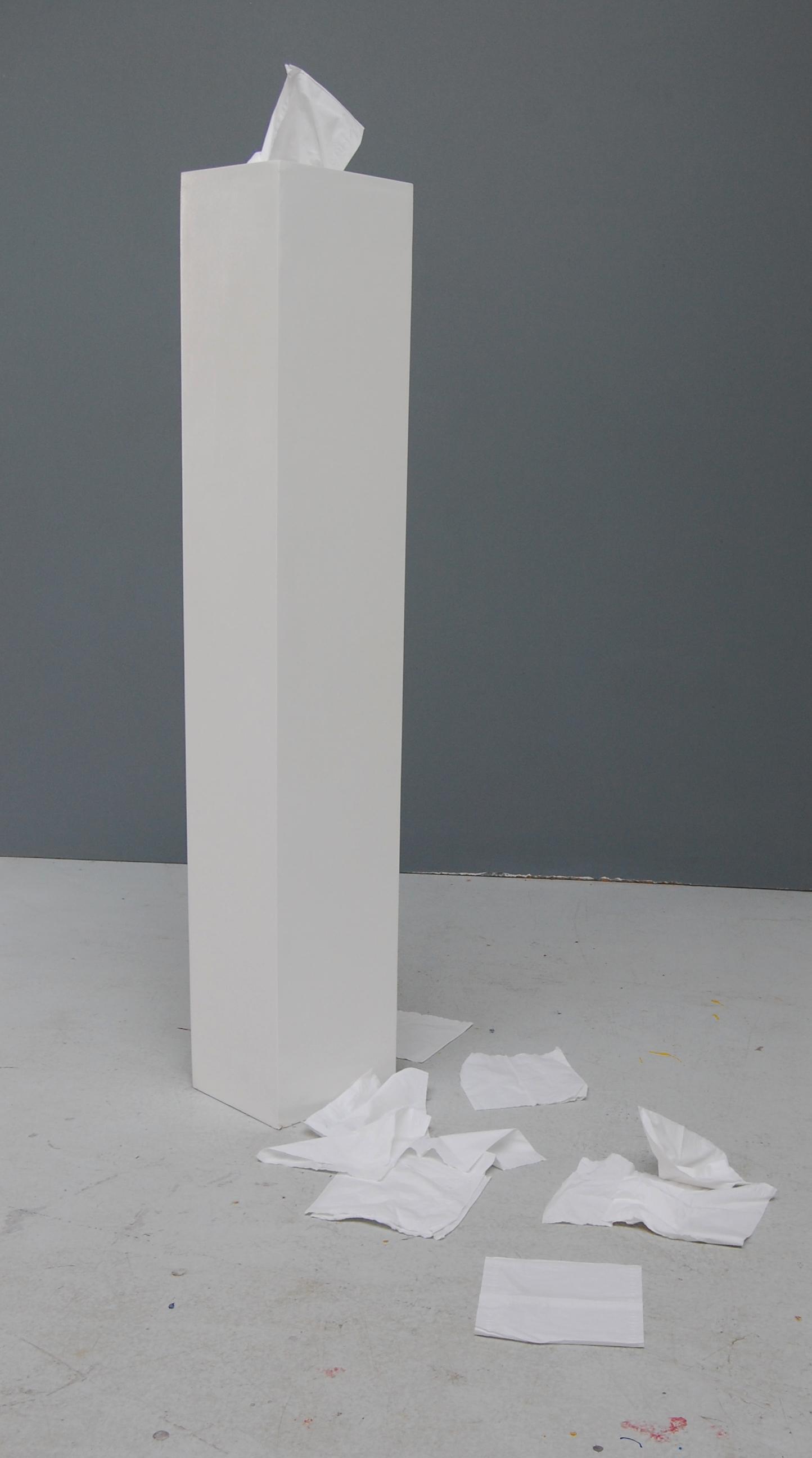 Taschentuchsockel
