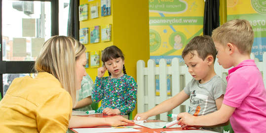 Our small tutor groups keep the learning tailored and personal for each child