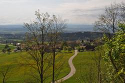 Ruine Balm Blick aufs Dorf (PvR)