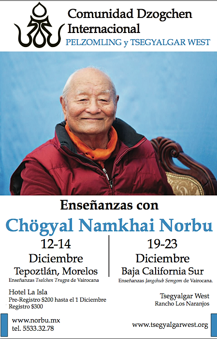 Webcast from Mexico – Dzogchen gr | Home of the Hellenic Dzogchen
