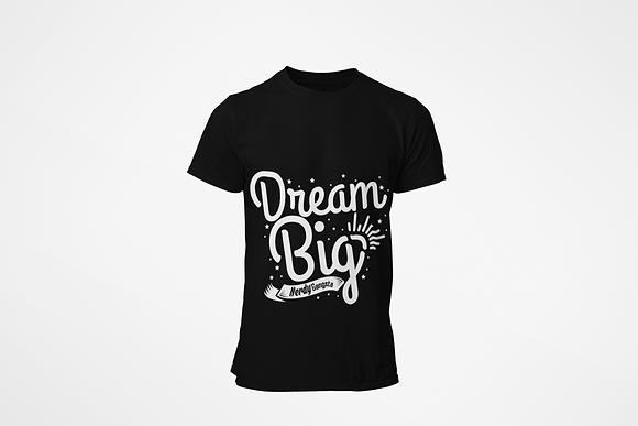 Dream Big T-Shirt (Black/White)
