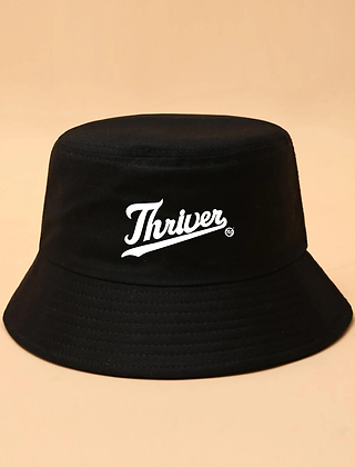 Black Thriver Bucket Hat
