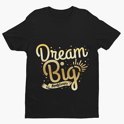 Dream Big T-Shirt (Black/Gold)