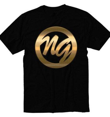 Nerdy Gangsta ™ Curive Logo T-Shirt (Unisex)