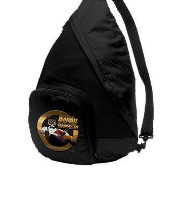 Nerdy Gangsta ™ Black Sling Backpack