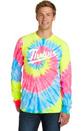 Neon Tie Dye Thriver Sweatshirt (Long Sleeve)