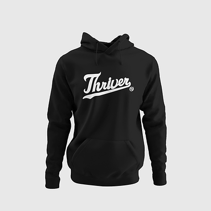 Thriver Hoodie (Black/White)