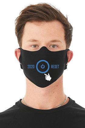 2020 Reset Face Mask (Black/Blue)