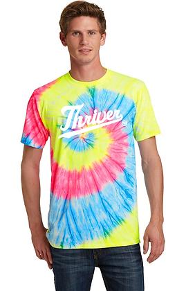 Neon Tie Dye Thriver T-Shirt