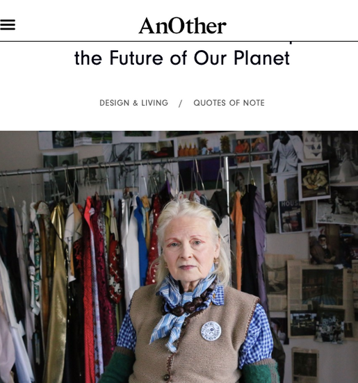 Vivienne Westwood, Marina Abramović, Cher and more share their powerful reflections on cli